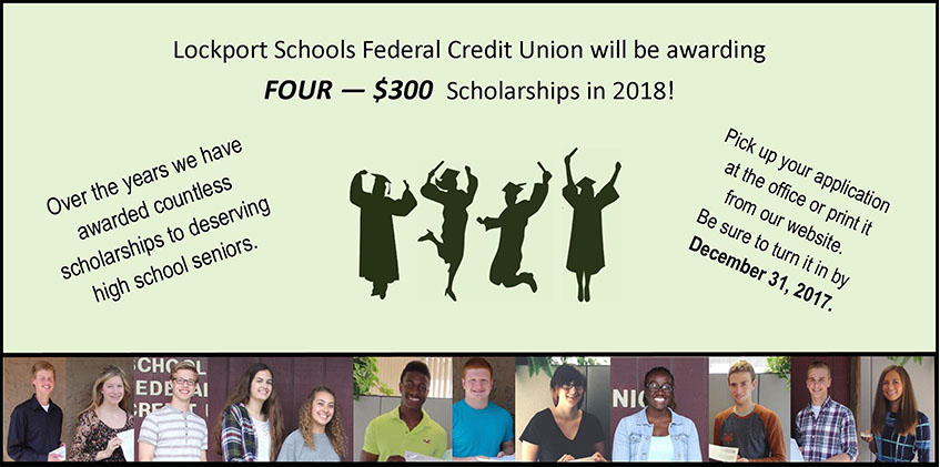 Lockport schools fcu scholarships